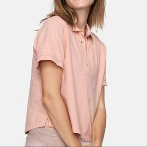 Outdoor voices pink polo